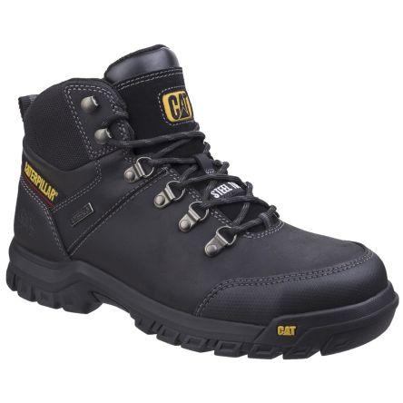 Black Steel Toe Cap Safety Boots, UK
