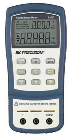 BK Precision, Model BK830C LCR Meter 199.99mF Handheld Type