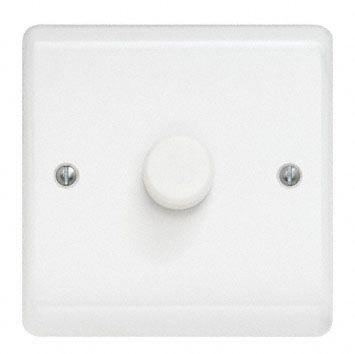 2 Way 1 Gang Dimmer Switch, 250W, 250 V