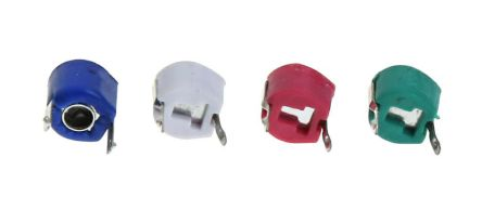 RS PRO Ceramic Trimmer Capacitor 3 → 10pF 100V Ceramic