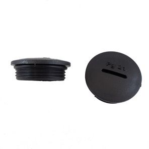 Hpm20 Bk080 Hole Plug Metric Thread M20 Black Rs
