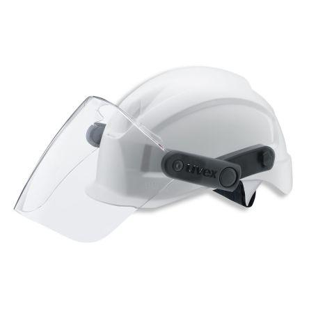 Electric Arcs, Liquids, Molten Metal Resistant Anti-Fog PC Attachable Face Shield