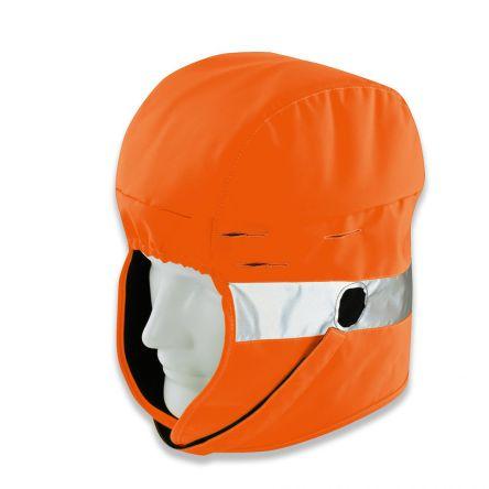 Uvex Fleece, Polyester Orange Hood