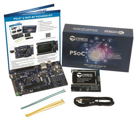 Development Kit Pioneer Kit for use with PSoC 6 MCU