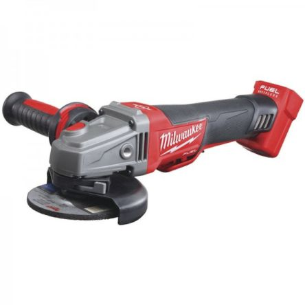 Milwaukee Cordless Grinder, 115mm Disc, 18V, (M18CAG115XPDB)