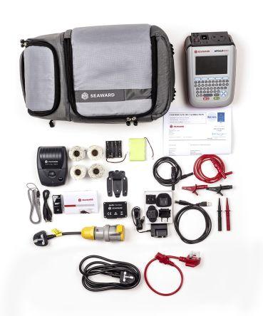Seaward Apollo 600 + Pro Bundle PAT Tester Kit, Kit Contents 110V Test Adaptor, 1D Bluetooth Barcode Scanner, 2 x Pro