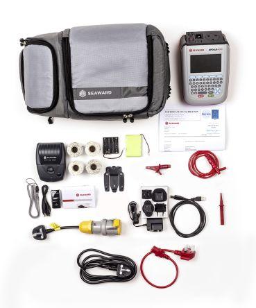 Seaward Apollo 400 + Pro Bundle PAT Tester Kit, Kit Contents 110V Test Adaptor, 1D Bluetooth Barcode Scanner, 2 x Pro