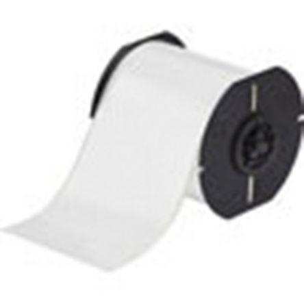 Brady White Label Printer Tape & Label