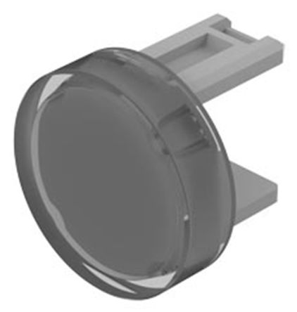 Clear Round Push Button Lens for use with 31 Series