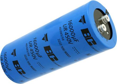Vishay Aluminium Capacitor 4700μF 500V dc 76.4mm Screw Terminal MAL2500 Series Aluminium Electrolytic, Screw Mount