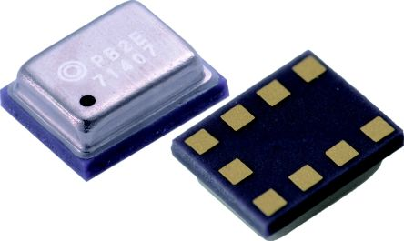 Omron Absolute for Air Pressure Sensor, I2C, SPI, 110kPa Max Pressure  Reading , 3 6 V