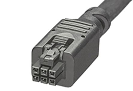 245130 Series Number Wire to Board Cable Assembly 2 Row, 6 Way 2 Row 6 Way, 1m product photo