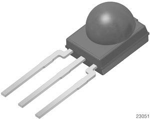 Vishay TSOP13436, 36kHz IR Receiver ±45 °, 30m Range, 2.5 V - 5.5V, Through Hole, 5.4 x 5 x 6.35mm