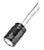 Panasonic 220μF 50V dc Aluminium Electrolytic Capacitor, Through Hole 10 Dia. x 16mm +105°C 10mm 5mm