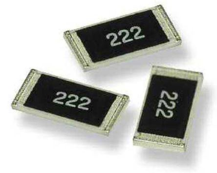 TE Connectivity CRGP Series Thick Film Resistor 0805 Case 1.5kΩ ±1% 0.33W ±100ppm/°C