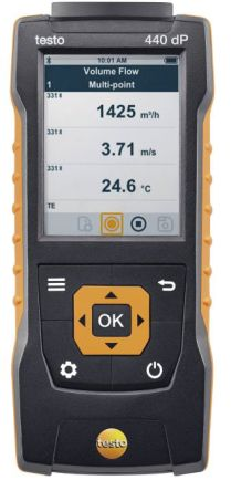 Testo Testo 440 Data Logging Air Quality Monitor, Battery-powered