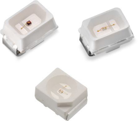 2 4 V Red LED 2214 SMD, Wurth Elektronik WL-SMTW 150224SS73100