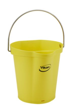 6L Yellow Bucket With Handle product photo
