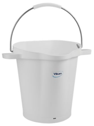 20L White Bucket With Handle product photo