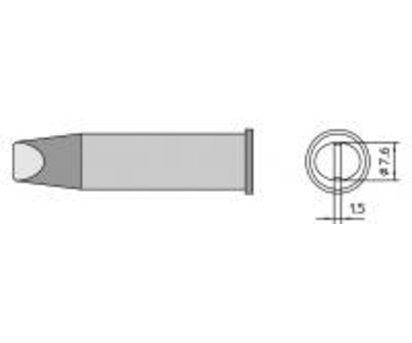 Weller XHT F 9.3 mm Straight Chisel Soldering Iron Tip