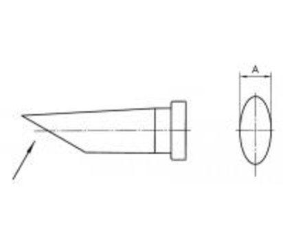 Weller LT AA 1.6 mm Soldering Iron Tip