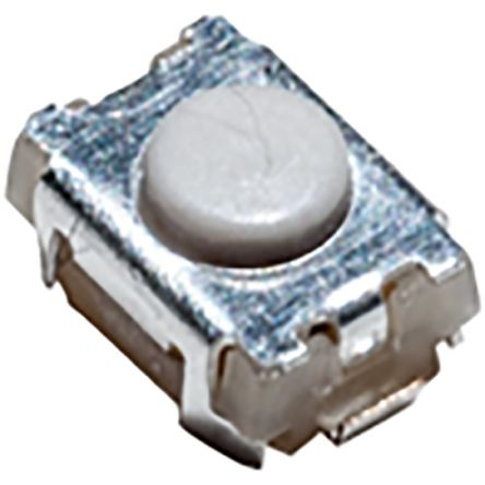 IP40 Top Tactile Switch, Single Pole Single Throw (SPST) 50 mA 2mm Surface Mount