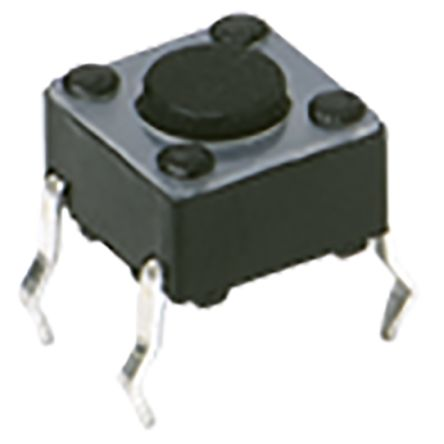IP40 Top Tactile Switch, Single Pole Single Throw (SPST) 50 mA 1.05mm Surface Mount