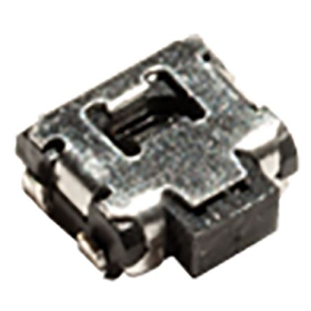 IP40 Side Tactile Switch, Single Pole Single Throw (SPST) 50 mA Surface Mount