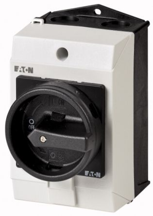 Eaton 3 + N Pole Surface Mount Non-Fused Switch Disconnector - 20 A Maximum Current, 5.5 kW Power Rating, IP65