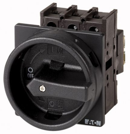 Eaton 3 + N Pole Flush Mount Non-Fused Switch Disconnector - 25 A Maximum Current, 13 kW Power Rating, IP65