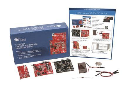 Cypress Semiconductor CYALKIT-E04 CYALKIT-E04 S6AE102A and S6AE103A Evaluation Kit for S6AE102A, S6AE103A for