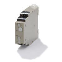 Omron ON Delay Multi Function Time Delay Relay, Screw, 0.1 s → 100 h, DPDT, 2 Contacts, DPDT, 12 V dc