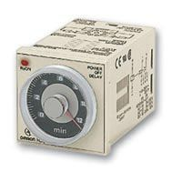 Omron OFF Delay Multi Function Timer Relay, Crimp, 0.05 → 12 s, DPDT, 2 Contacts, DPDT, 200 → 240 V ac