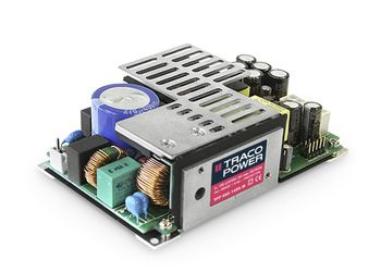 TRACOPOWER, 450W Embedded Switch Mode Power Supply SMPS, 24V dc, Open Frame, Medical Approved