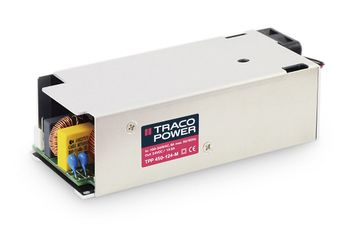 TRACOPOWER, 450W Embedded Switch Mode Power Supply SMPS, 48V dc, Enclosed, Medical Approved