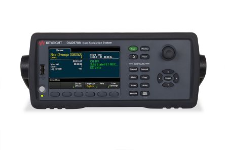 Keysight Technologies DAQ970A Data Acquisition DAQ With RS Calibration