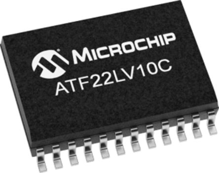 Microchip Technology ATF22LV10C-10XU, SPLD Simple Programmable Logic Device ATF22LV10C 10 Macro Cells, 22 I/O, ISP, 10ns