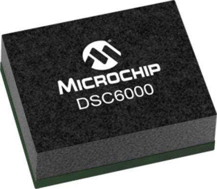 Microchip 80MHz MEMS Oscillator, 4-Pin VLGA, DSC6003JI2A-012.0000
