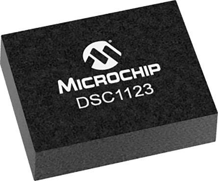 Microchip 125MHz MEMS Oscillator, 6-Pin VDFN, DSC1123CI2-125.0000