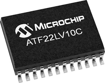 Microchip Technology ATF22LV10C-10XU, SPLD Simple Programmable Logic Device ATF22LV10C 10 Macro Cells, 22 I/O, ISP, 10ns