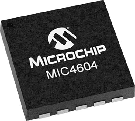 Microchip MIC4604YMT-TR Half Bridge MOSFET Power Driver 10-Pin, TDFN