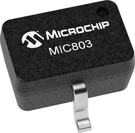 Microchip MIC803-29D3VC3-TR, Processor Supervisor 1V 3-Pin, SC-70