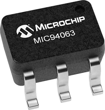 Microchip MIC94063YC6-TR, 1 Power Control Switch, Load Switch 6-Pin, SC-70