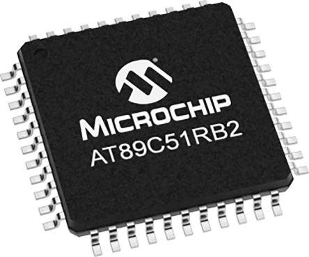 AT89C51RB2-RLTUM, 8bit Microcontroller, 40MHz, 16 kB Flash, 44-Pin VQFP product photo