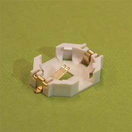 JST Battery Holders & Mount, Button Contact