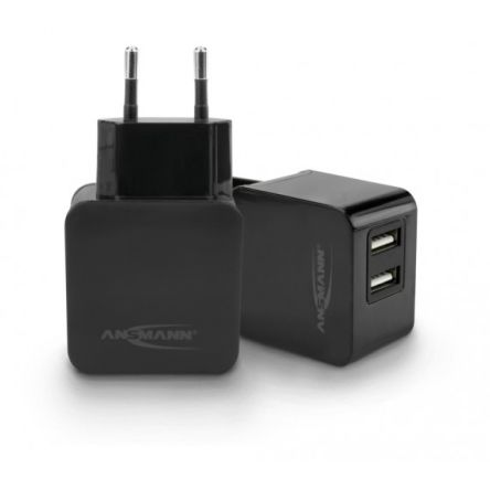 Ansmann Home Charger 231+ Portable Device Charger, EURO Plug