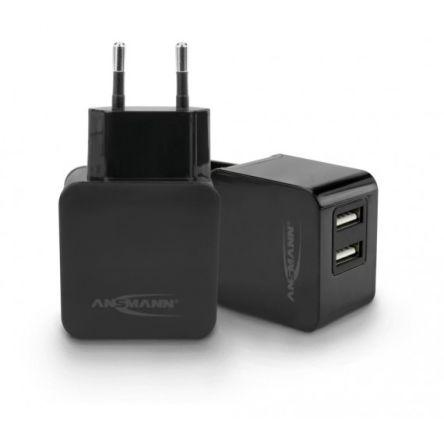 Ansmann Home Charger 231+ USB Charger, EURO Plug