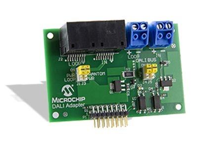 AC160214-1, Lighting Communications Development Platform DALI Development Kit for PIC16F1947 product photo