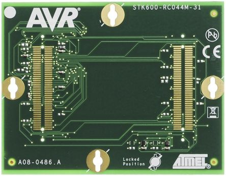 Microchip Technology ATSTK600-RC31 for use with 44-pin MegaAVR in TQFP and QFN Socket