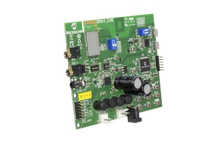 Microchip Technology BM64 Bluetooth Audio Evaluation Board Evaluation Board for BM-64-EVB-C1 - BM-64-EVB-C1